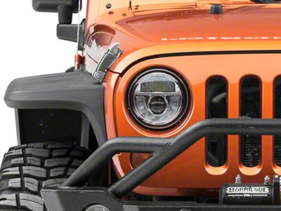 Axial 7 in. LED Headlights (07-18 Jeep Wrangler JK)