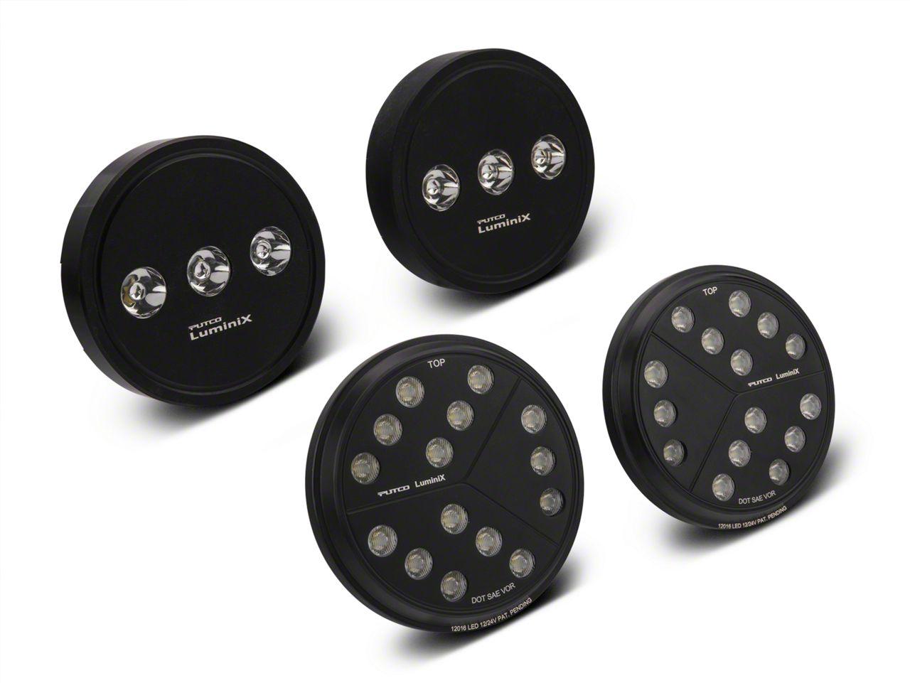 Putco Luminix LED Headlight & Fog Light Combo Kit (07-18 Jeep Wrangler JK)