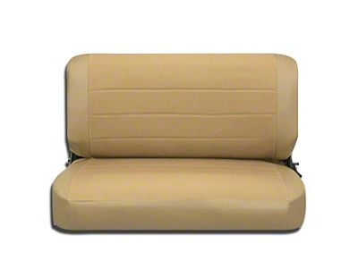 Corbeau Rear Seat Cover - Spice Vinyl/Cloth (87-95 Jeep Wrangler YJ)