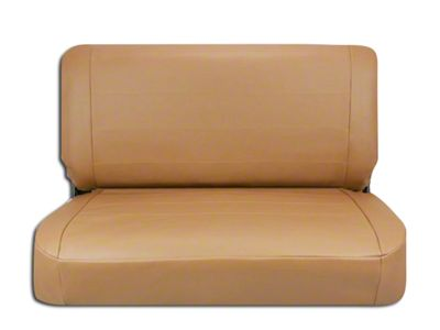 Corbeau Rear Seat Cover - Tan Vinyl (87-95 Jeep Wrangler YJ)
