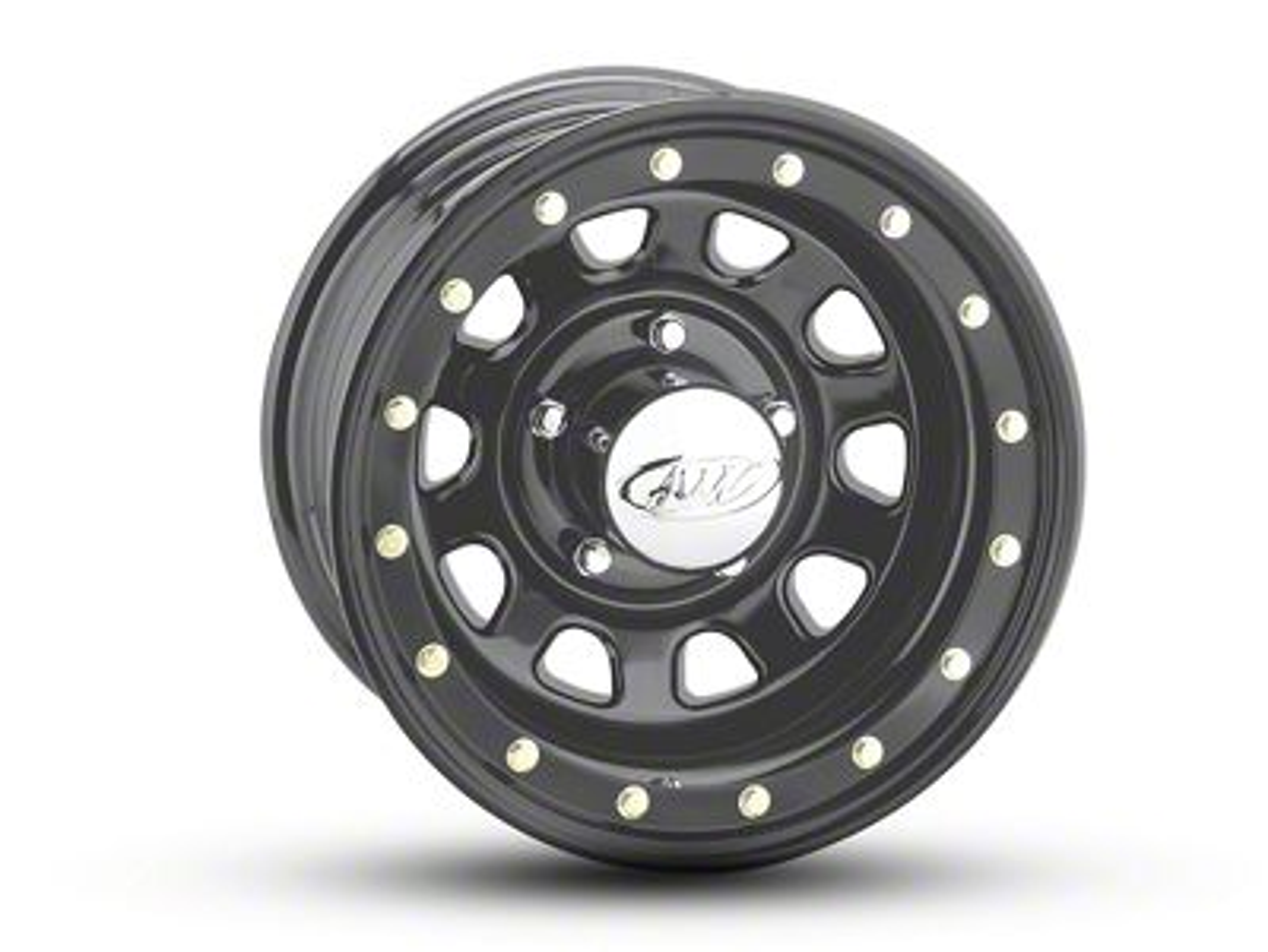 Raceline 54M Daytona Matte Black Wheel - 16x8 (07-18 Jeep Wrangler JK)