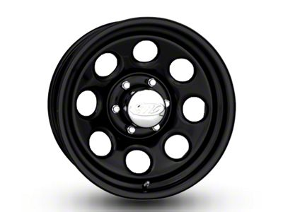Raceline 81B Soft 8 Black Wheel - 17x9 (07-18 Jeep Wrangler JK; 2018 Jeep Wrangler JL)