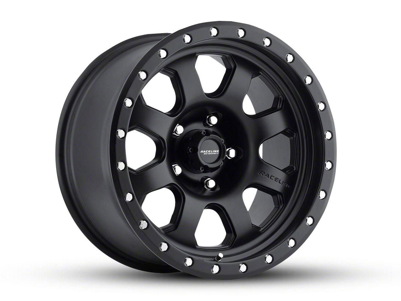 Raceline SL Avenger Black Wheel - 17x9 (18-19 Jeep Wrangler JL)