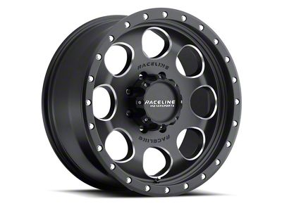 Raceline Havoc Black Wheel - 18x9 (07-18 Jeep Wrangler JK)
