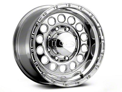 Raceline 887 Rockcrusher Polished Wheel - 17x9 (87-06 Jeep Wrangler YJ & TJ)