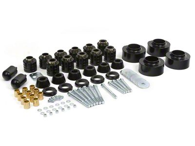 Daystar 2.75 in. Comfort Ride Coil Spacer & Body Mount Lift Kit (97-06 Jeep Wrangler TJ)