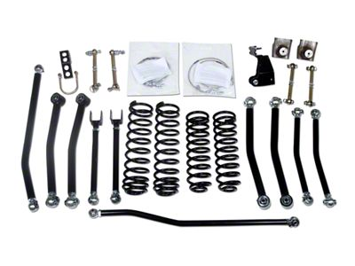 Daystar 3 in. Low Center of Gravity Lift Kit (07-18 Jeep Wrangler JK)