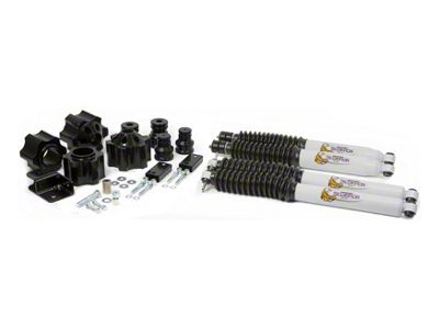 Daystar 3 in. Comfort Ride Suspension Lift Kit w/ Scorpion Shocks (07-18 Jeep Wrangler JK)