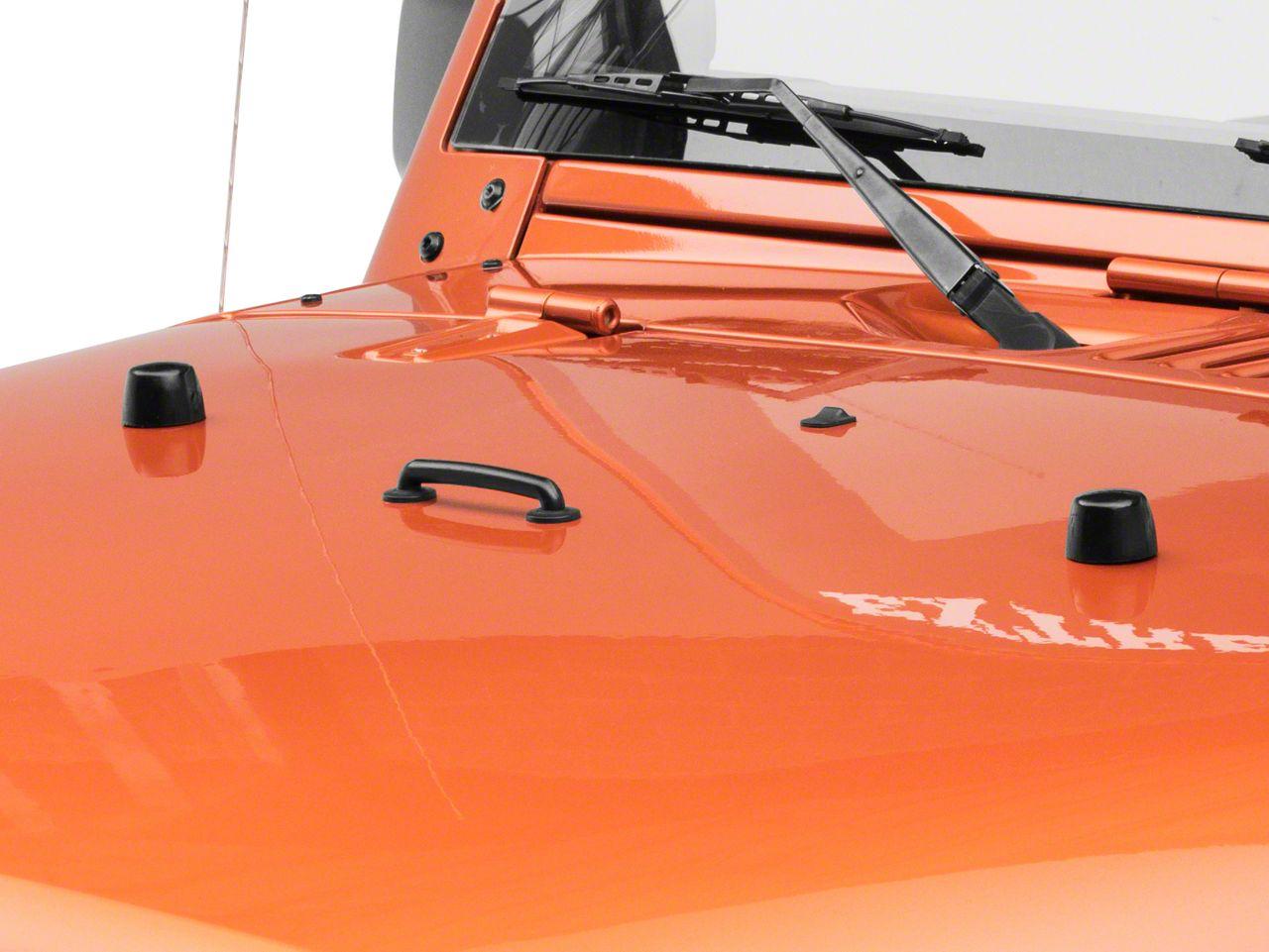 Daystar Hood Bumpers (87-18 Jeep Wrangler YJ, TJ, JK & JL)