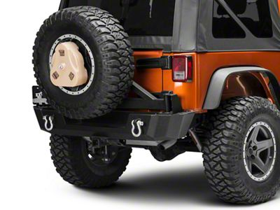 Daystar Cam Can Trail Box w/ Spare Tire Mount - Tan (97-18 Jeep Wrangler TJ & JK)
