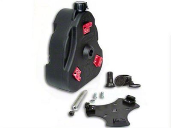 Daystar Cam Can Complete Kit - Tan - Non-Flammable Liquids (97-18 Jeep Wrangler TJ & JK)