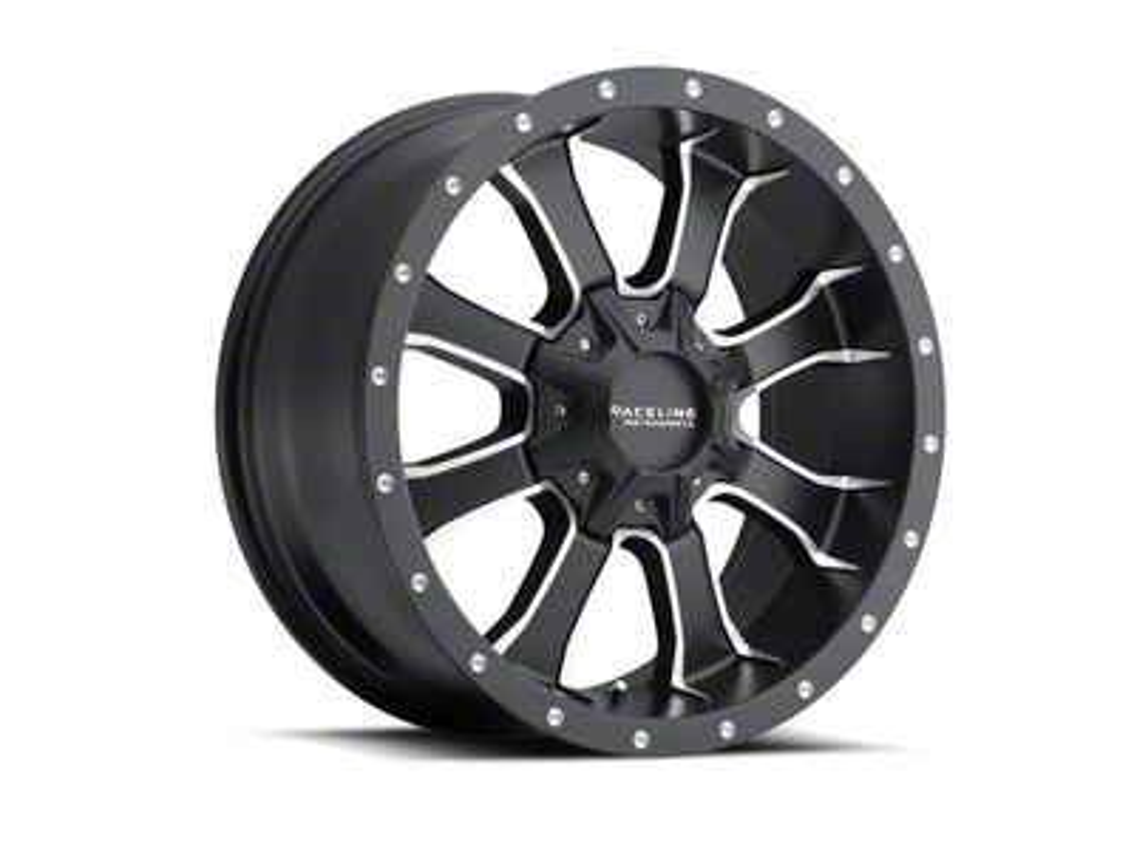 Raceline Mamba Black Wheel - 20x9 (18-19 Jeep Wrangler JL)