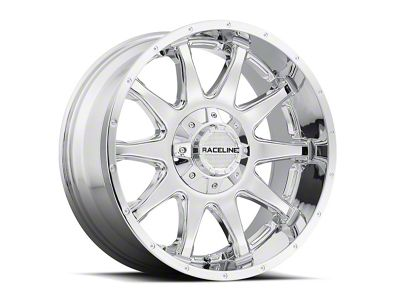 Raceline Shift Chrome Wheel - 20x9 (87-06 Jeep Wrangler YJ & TJ)