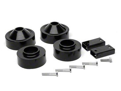 Daystar 1.75 in. Comfort Ride Coil Spacer Lift Kit (07-18 Jeep Wrangler JK)