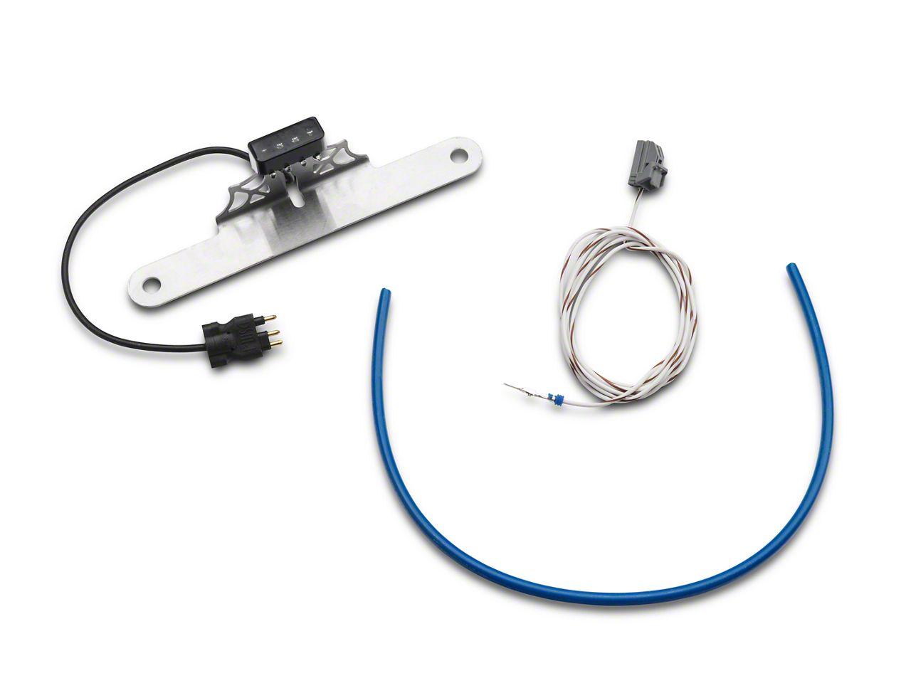 Poison Spyder LED License Plate & 3rd Brake Light Connectors (07-18 Jeep Wrangler JK)