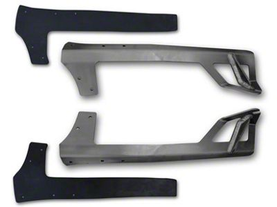 Poison Spyder 50 in. Rigid E or SR Series LED Light Bar Mount - Steel (07-18 Jeep Wrangler JK)