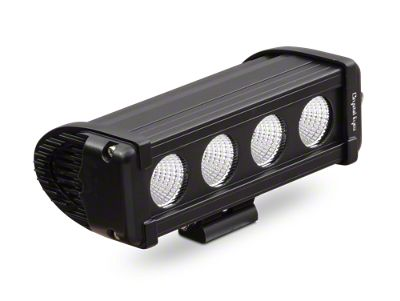 Alteon 8 in. 8 Series LED Light Bar - 60 Degree Flood Beam