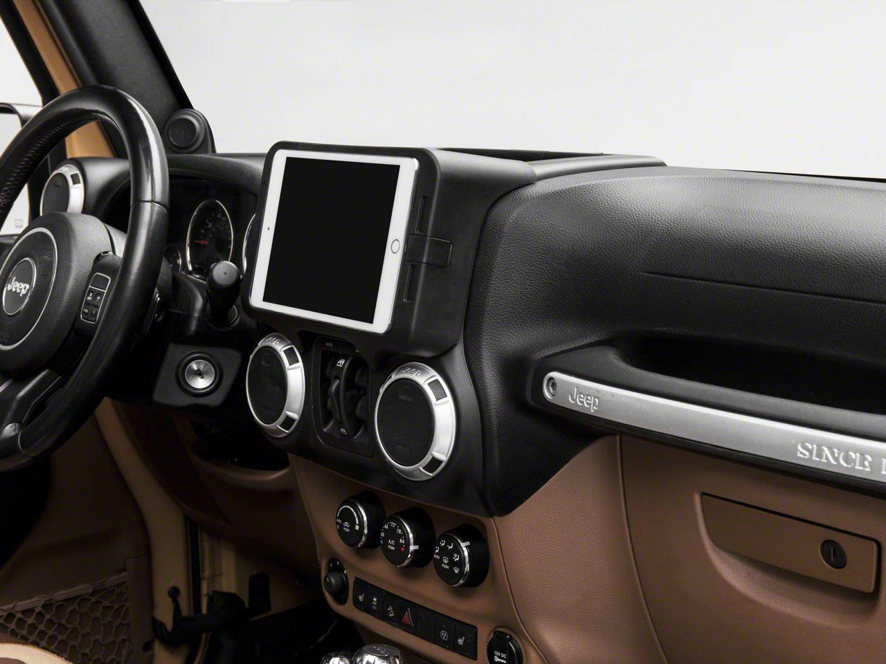 Carrichs iPad Mini 1, 2 & 3 Dash Kit (11-18 Jeep Wrangler JK)