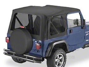 Bestop Replace-A-Top w/ Tinted Windows - Black Diamond (03-06 Jeep Wrangler TJ w/ Full Steel Doors)