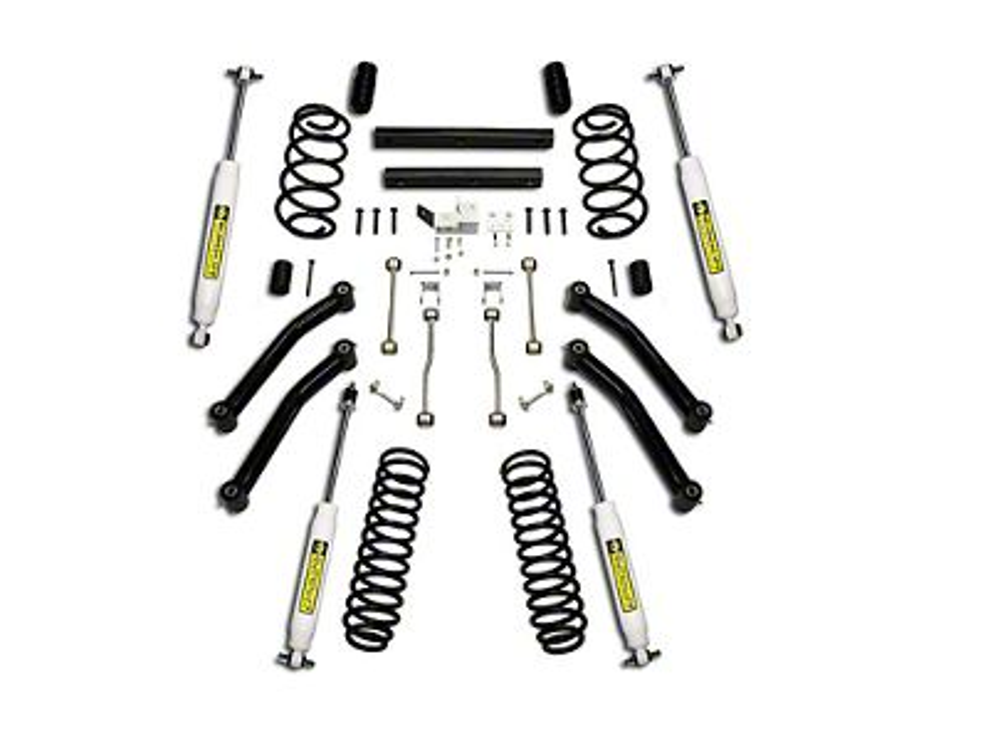 SuperLift 4 in. Suspension Lift Kit w/ Superide Shocks (97-02 Jeep Wrangler TJ)