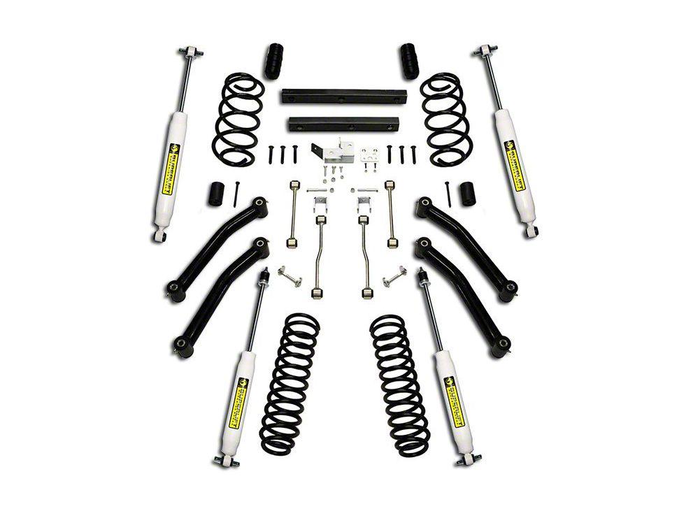 SuperLift 4 in. Suspension Lift Kit w/ Superide Shocks (03-06 Jeep Wrangler TJ)