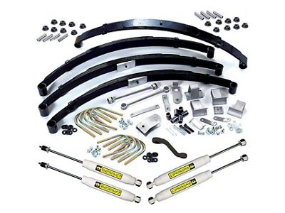 SuperLift 3.5 in. Suspension Lift Kit w/ Superide Shocks (87-95 Jeep Wrangler YJ)