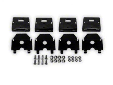 Kargo Master Fiberglass Top Mounting Brackets (87-19 Jeep Wrangler YJ, TJ, JK & JL)
