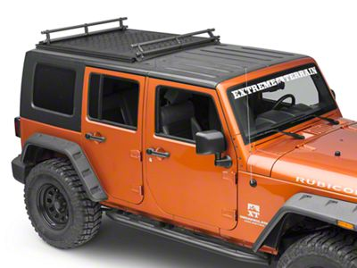 Kargo Master Front & Rear Cross Rails (07-18 Jeep Wrangler JK)