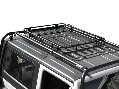 Garvin Adventure Rack Basket (97-18 Jeep Wrangler TJ & JK)