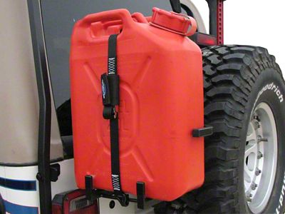 Garvin ATS Series Can Holder (87-06 Jeep Wrangler YJ & TJ w/ ATS Series Tire Carrier)