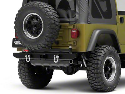 Garvin ATS Series Rear Bumper w/ Tire Carrier (87-06 Jeep Wrangler YJ & TJ)