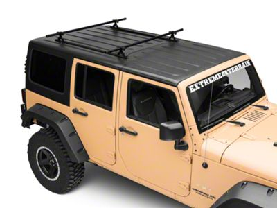 Garvin Crossbar Mounting Kit (07-18 Jeep Wrangler JK 4 Door)