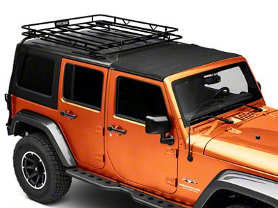 Garvin Expedition Half-Rack for Hard-Tops (07-18 Jeep Wrangler JK 4 Door)