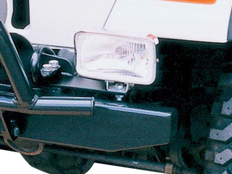 Garvin Front Bumper Light Mounts (87-18 Jeep Wrangler YJ, TJ, JK & JL)