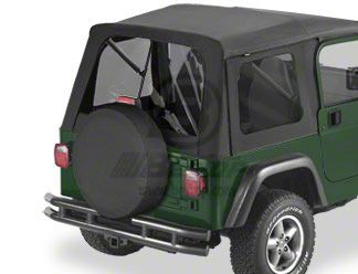 Bestop Tinted Window Kit for Supertop - Black Diamond (97-06 Jeep Wrangler TJ)