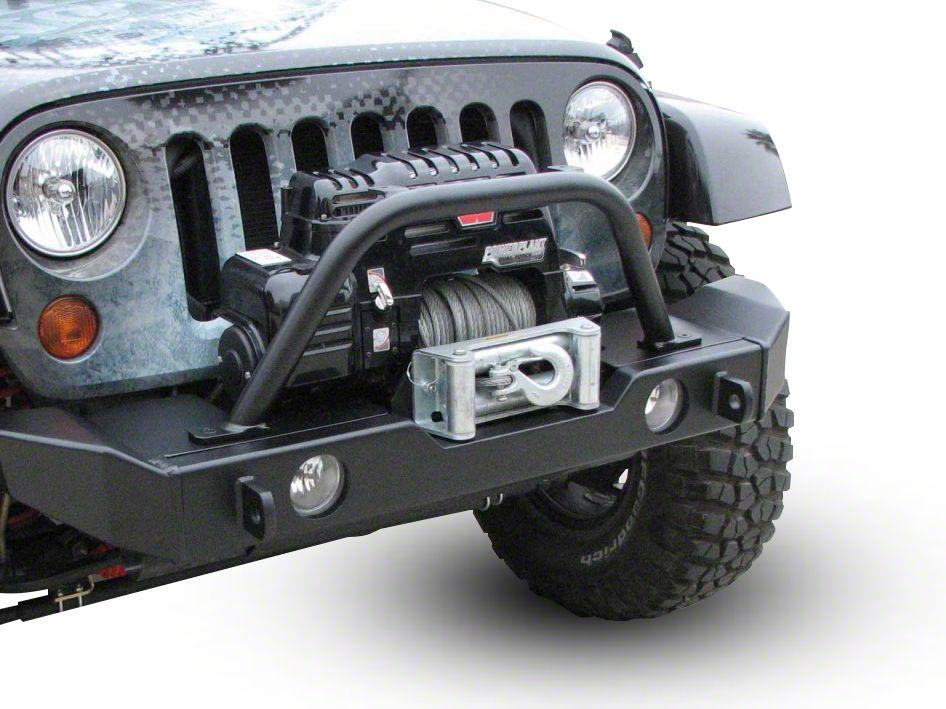 Garvin G2 Series Mid-Width Front Bumper (07-18 Jeep Wrangler JK)