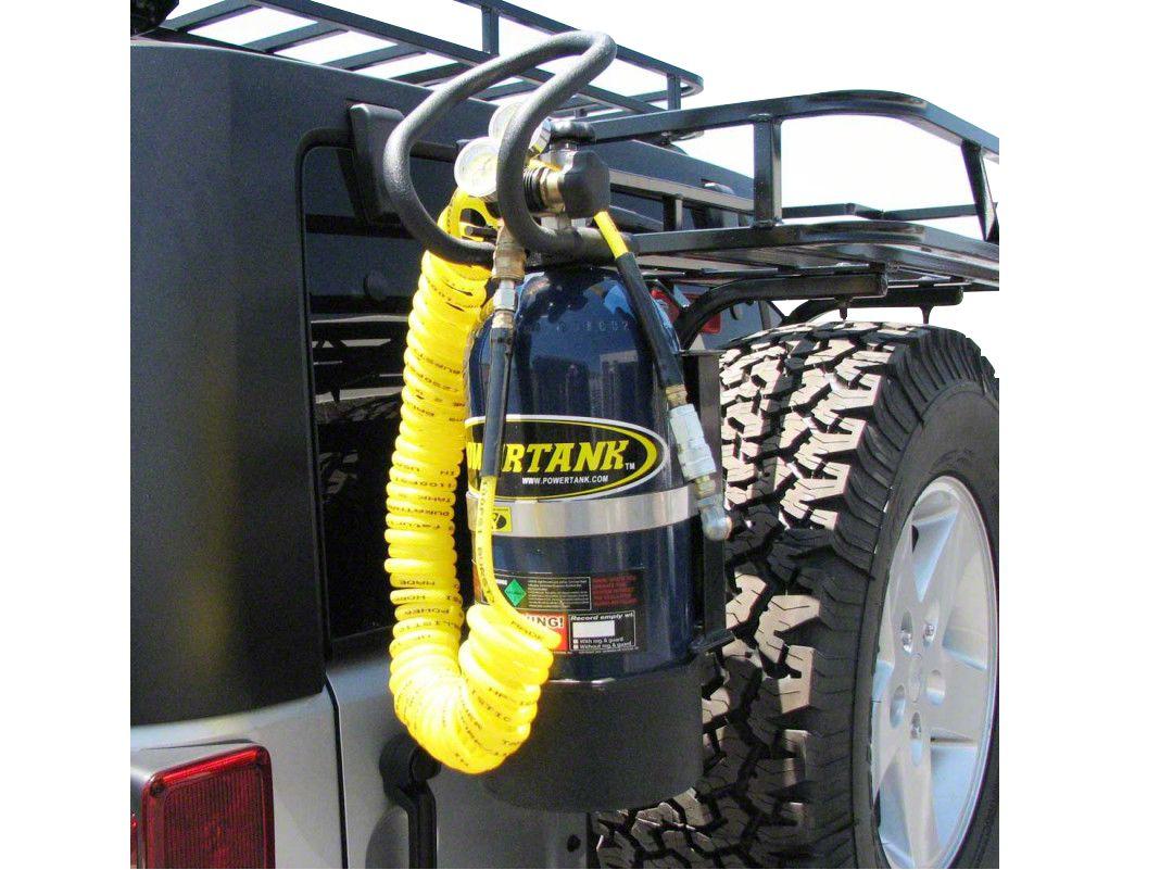 Garvin G2 Series Power Tank Holder - Driver Side (97-06 Jeep Wrangler TJ)