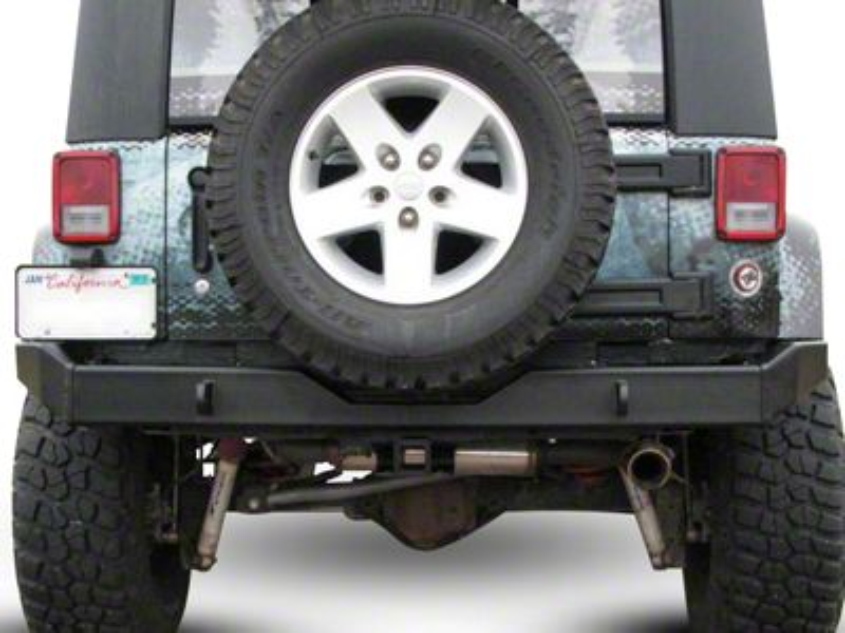 Garvin G2 Series Rear Bumper (07-18 Jeep Wrangler JK)