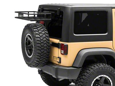 Garvin G2 Series Trail Rack (07-18 Jeep Wrangler JK)