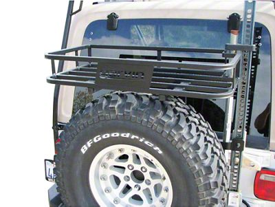 Garvin G2 Series Trail Rack (97-06 Jeep Wrangler TJ)