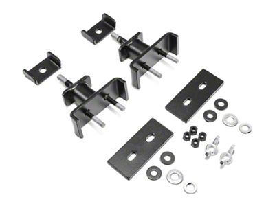 Garvin Hi-Lift Jack Mount for 4 in. High Roof Rack (87-19 Jeep Wrangler YJ, TJ, JK & JL)