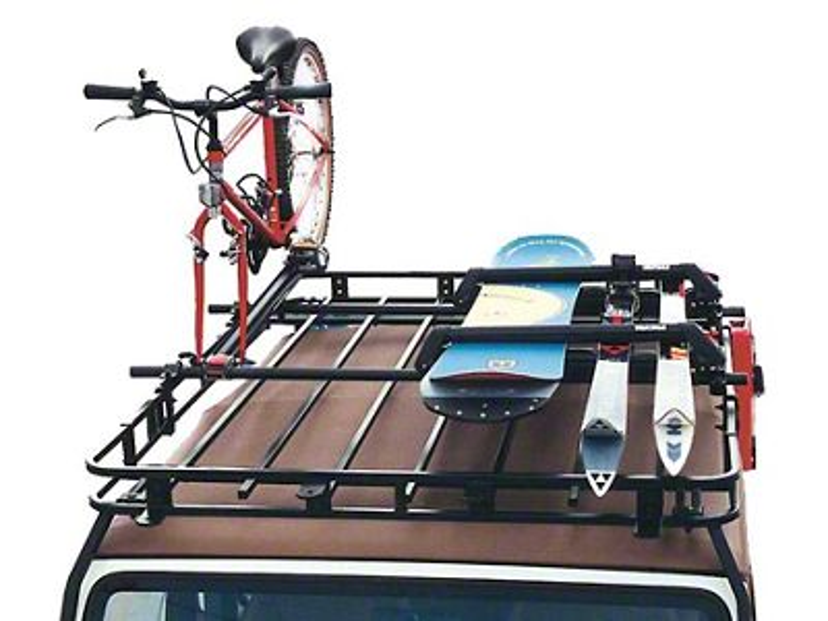 Garvin Yakima/Thule Crossbar Adapters for 6 in. High Roof Rack (87-18 Jeep Wrangler YJ, TJ, JK & JL)