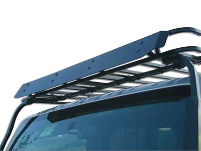 Garvin Wind Deflector for Wide Sports Series Roof Rack (87-19 Jeep Wrangler YJ, TJ, JK & JL)