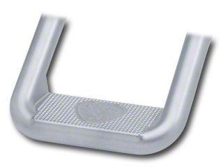 Carr Hoop II Steps - Titanium Silver (97-06 Jeep Wrangler TJ)