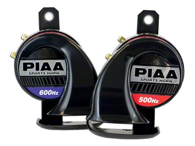 PIAA Automotive Sports Horn - 500/600Hz (87-19 Jeep Wrangler YJ, TJ, JK & JL)