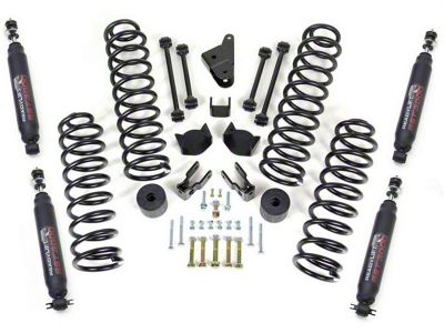 ReadyLIFT 4 in. Coil Spring Lift Kit w/ SST3000 Shocks (07-18 Jeep Wrangler JK)