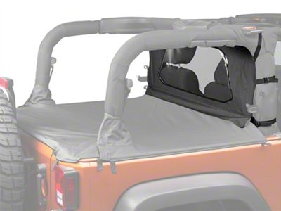 Bestop Windjammer - Black (07-18 Jeep Wrangler JK 2 Door)