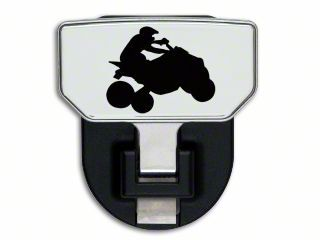 Carr HD Hitch Step w/ Quad Logo (87-19 Jeep Wrangler YJ, TJ, JK & JL)