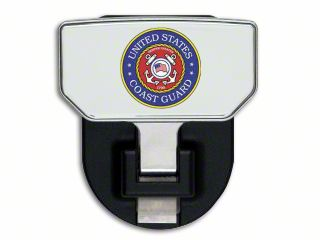 Carr HD Hitch Step w/ US Coast Guard Logo (87-19 Jeep Wrangler YJ, TJ, JK & JL)