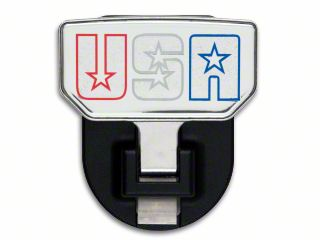 Carr HD Hitch Step w/ American Flag Logo (87-19 Jeep Wrangler YJ, TJ, JK & JL)